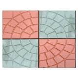 Тротуарная плитка Колодец цвет красная