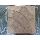 Полимерпесчаная тротуарная плитка колодец