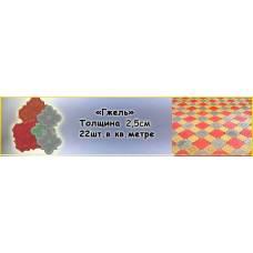 Тротуарная плитка Гжель 25 мм