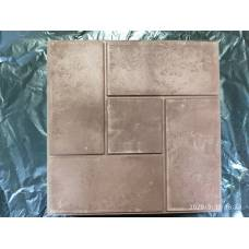 Полимерпесчаная тротуарная плитка 4 кирпича и квадрат